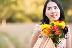 Όμορφη ασιατική γυναίκα στοκ φωτογραφίες