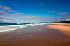 Όμορφη αυστραλιανή παραλία στο Ειρηνικό Ωκεανό Στοκ φωτογραφία με δικαίωμα ελεύθερης χρήσης