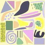Όμορφη αφηρημένη διανυσματική απεικόνιση υποβάθρου Στοκ εικόνα με δικαίωμα ελεύθερης χρήσης