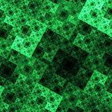 Όμορφη αφηρημένη εικόνα παραγμένη σύσταση προτύπων mirco λεπτομερειών υπολογιστών fractal Στοκ Εικόνες