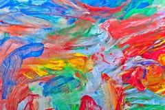 Όμορφη αφηρημένη ζωγραφική Στοκ εικόνα με δικαίωμα ελεύθερης χρήσης