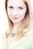 όμορφη βέβαια μόνη γυναίκα Στοκ φωτογραφίες με δικαίωμα ελεύθερης χρήσης