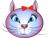 Όμορφη γάτα απεικόνιση αποθεμάτων