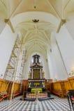 Όμορφη γοτθική εκκλησία σε Kristianstad, Σουηδία Στοκ Φωτογραφία
