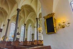 Όμορφη γοτθική εκκλησία σε Kristianstad, Σουηδία Στοκ Εικόνες