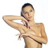 όμορφη γυμνή γυναίκα Στοκ φωτογραφίες με δικαίωμα ελεύθερης χρήσης