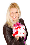 όμορφη γυναίκα βαλεντίνων & Στοκ φωτογραφίες με δικαίωμα ελεύθερης χρήσης