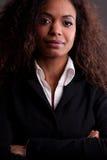 Όμορφη γυναίκα γεμάτη αυτοπεποίθηση Στοκ εικόνα με δικαίωμα ελεύθερης χρήσης
