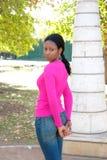Όμορφη γυναίκα με το λεπτό σώμα στοκ εικόνες με δικαίωμα ελεύθερης χρήσης