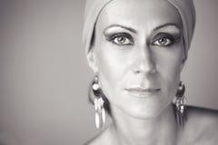Όμορφη γυναίκα με το makeup Στοκ φωτογραφία με δικαίωμα ελεύθερης χρήσης