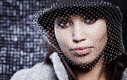 όμορφη γυναίκα μόδας Στοκ εικόνα με δικαίωμα ελεύθερης χρήσης