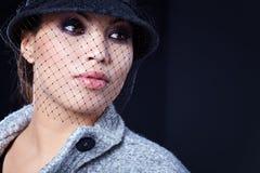όμορφη γυναίκα μόδας στοκ εικόνα