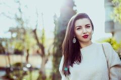 όμορφη γυναίκα μόδας Στοκ εικόνες με δικαίωμα ελεύθερης χρήσης