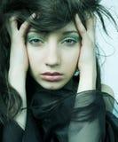 Όμορφη γυναίκα νεράιδων Στοκ εικόνες με δικαίωμα ελεύθερης χρήσης