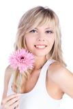 όμορφη γυναίκα ξανθών μαλλ&i στοκ εικόνες