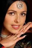 όμορφη γυναίκα ομορφιάς Στοκ Φωτογραφίες