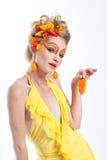 όμορφη γυναίκα πιπεριών Στοκ φωτογραφίες με δικαίωμα ελεύθερης χρήσης