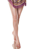 όμορφη γυναίκα ποδιών Στοκ φωτογραφία με δικαίωμα ελεύθερης χρήσης