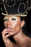 όμορφη γυναίκα πορτρέτου γοητείας Στοκ φωτογραφία με δικαίωμα ελεύθερης χρήσης