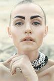 όμορφη γυναίκα πορτρέτου μόδας στοκ εικόνα