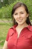 όμορφη γυναίκα πορτρέτου Στοκ εικόνα με δικαίωμα ελεύθερης χρήσης