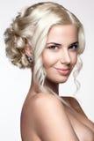 όμορφη γυναίκα πορτρέτου Στοκ φωτογραφίες με δικαίωμα ελεύθερης χρήσης