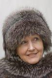 όμορφη γυναίκα πορτρέτου &ga Στοκ Φωτογραφία