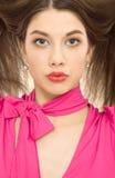όμορφη γυναίκα πορτρέτου hair Στοκ Φωτογραφία