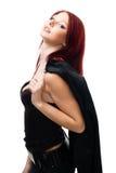 όμορφη γυναίκα πορτρέτου &sig Στοκ εικόνα με δικαίωμα ελεύθερης χρήσης