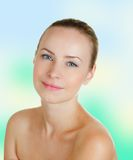 όμορφη γυναίκα προσώπου s Στοκ φωτογραφία με δικαίωμα ελεύθερης χρήσης