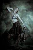όμορφη γυναίκα στούντιο πορτρέτου Στοκ φωτογραφίες με δικαίωμα ελεύθερης χρήσης