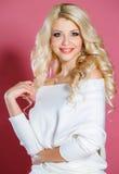 όμορφη γυναίκα στούντιο π&omicr στοκ φωτογραφίες με δικαίωμα ελεύθερης χρήσης