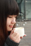 όμορφη γυναίκα της Ασίας στοκ εικόνα με δικαίωμα ελεύθερης χρήσης