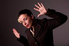 όμορφη γυναίκα τριχώματος & στοκ φωτογραφία με δικαίωμα ελεύθερης χρήσης