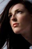 όμορφη γυναίκα τριχώματος Στοκ φωτογραφία με δικαίωμα ελεύθερης χρήσης