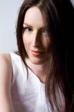όμορφη γυναίκα τριχώματος στοκ εικόνες με δικαίωμα ελεύθερης χρήσης