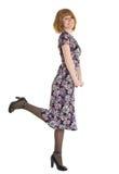 όμορφη γυναίκα φορεμάτων στοκ φωτογραφίες με δικαίωμα ελεύθερης χρήσης