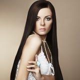 όμορφη γυναίκα φωτογραφιών μόδας στοκ φωτογραφία με δικαίωμα ελεύθερης χρήσης