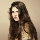 όμορφη γυναίκα φωτογραφιών μόδας στοκ φωτογραφίες