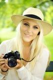 όμορφη γυναίκα φωτογραφι& Στοκ φωτογραφία με δικαίωμα ελεύθερης χρήσης
