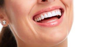 όμορφη γυναίκα χαμόγελου στοκ εικόνα με δικαίωμα ελεύθερης χρήσης