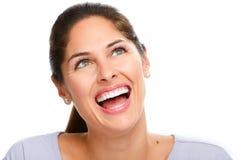 όμορφη γυναίκα χαμόγελου στοκ εικόνες με δικαίωμα ελεύθερης χρήσης