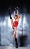 Όμορφη γυναίκα χορευτών Στοκ Φωτογραφίες