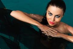 όμορφη γυναίκα ύδατος Στοκ φωτογραφία με δικαίωμα ελεύθερης χρήσης