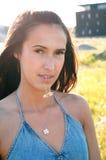 όμορφη γυναίκα brunette Στοκ εικόνες με δικαίωμα ελεύθερης χρήσης