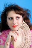 Όμορφη γυναίκα brunette Στοκ φωτογραφίες με δικαίωμα ελεύθερης χρήσης