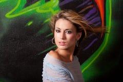 όμορφη γυναίκα headshot Στοκ φωτογραφία με δικαίωμα ελεύθερης χρήσης