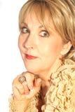 όμορφη γυναίκα headshot Στοκ φωτογραφίες με δικαίωμα ελεύθερης χρήσης