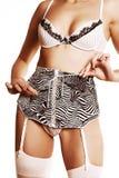 Όμορφη γυναίκα lingerie στοκ εικόνα