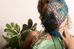όμορφη γυναίκα makeup Στοκ Εικόνα